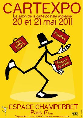 Cartexpo, Cartes postales, Espace Champeret, Salon, Exposition
