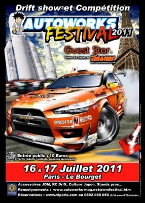 Autoworks Festival 2011, Parc des Expositions du Bourget, Automobiles, Voitures,