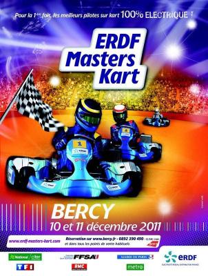 ERDF Masters Kart, Karting, Palais Omnisports de Paris-Bercy