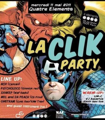 Click Party #11, Bar 4 Elements