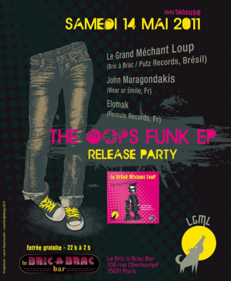 The Oops Funk EP Release Party, Bric à Brac