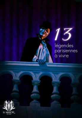 Manoir de Paris, Légendes, Fantôme de l'Opéra