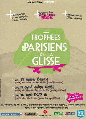 Finales, Trophées Parisiens de la glisse, Roller, Skate, BMX, Espace de Glisse de Paris