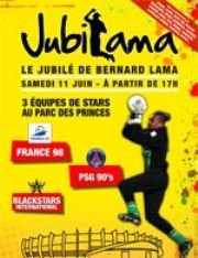 Jubilé, JubiLama, Bernard Lama, Parc des Princes, Football