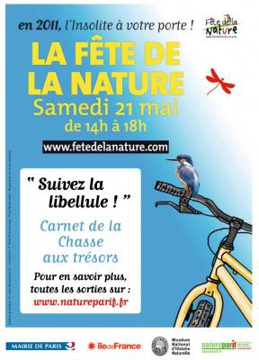 Suivez la libellule, Chasse aux trésors, Fête de la Nature 2011