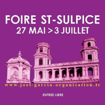 Foire Saint-Sulpice 2011, place