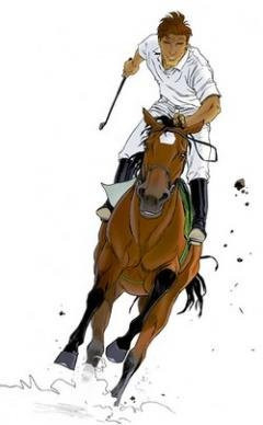 Largo Winch, Cheval, Equitation