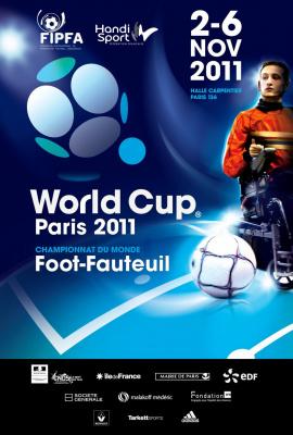 Coupe du Monde 2011, Foot-fauteuil, Handisport, Halle Carpentier
