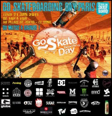 Go Skateborading Day, Palais de Tokyo