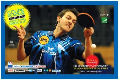 Coupe du Monde 2011, Tennis de Table, Hall Georges Carpentier