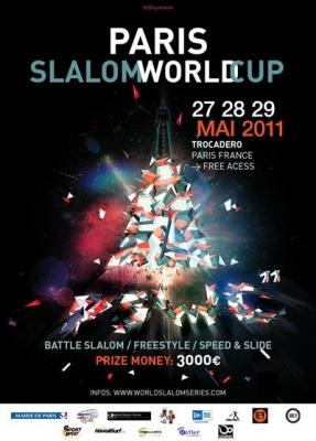 Paris Slalom World Cup 2011, Trocadéro