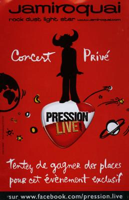 Jamiroquai Pression Live