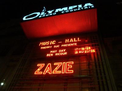 Zazie Olympia 20111
