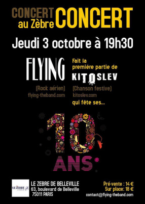 FLYING + KITOSLEV