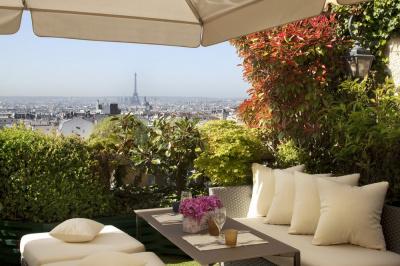 Terrasse, Le 7th, Terrass Hôtel, Tour Eiffel