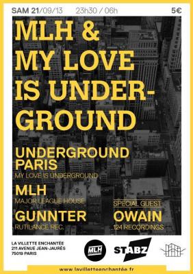 MLH invite Underground Paris