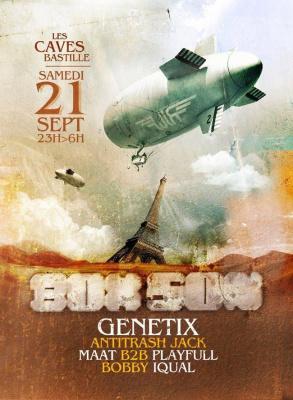 La BoxSon w/ GENETIX (UK), ANTITRASH JACK, MAAT B2B PLAYFULL, BOBBY, IQUAL - 21/09