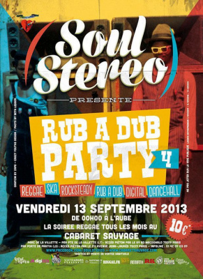 Soul Stereo - Rub a Dub Party #4