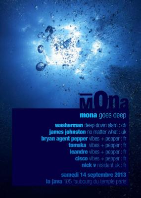 MONA GOES DEEP