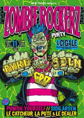 Zombie Rockerz Party