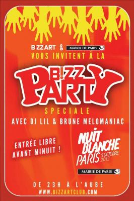 Bizz Party Spéciale Nuit Blanche
