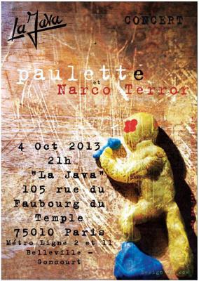 PAULETTE + NARCO TERROR