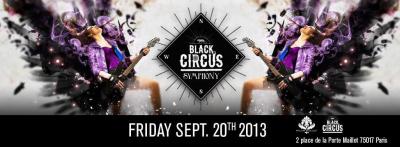 Palais Maillot presents FRIDAY BLACK CIRCUS SYMPHONY