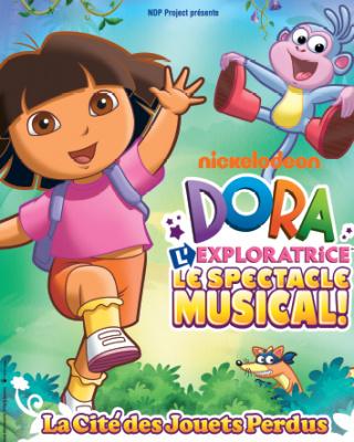 Dora l'exploratrice à l'olympia, spectacle musical 2011