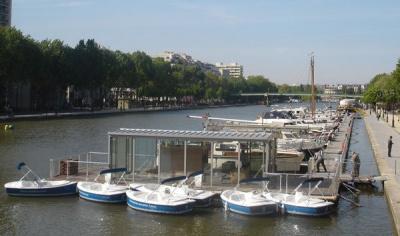 Bateaux électriques, Bassin de la Villette