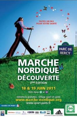 Marche nordique Découverte, Parc de Bercy