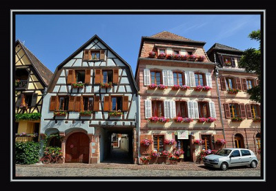 Village, Alsace