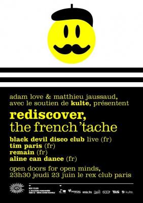 Rediscover, Tim Paris, Remain, Black Devil Disco Club, Aline Can Dance, Rex Club