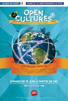 3ème édition, Open Cultures, Paris, XIVème arrondissement