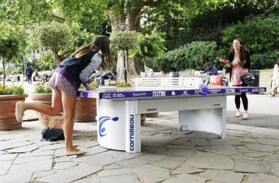 Soldes ShopPing Pong, Forum des Halles, Tennis de Table