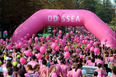 Odyssea, Courses, Marches, Contre le cancer du sein, Bois, Château de Vincennes