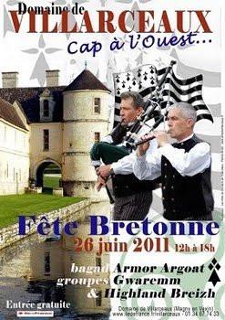 Fête Bretonne, Domaine de Villarceaux, Cap à l'Ouest