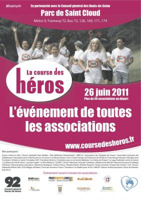 La course des héros, Paris, 2011, la course des héros 2011, course, sport, association, caricatif, les visages de l'engagement