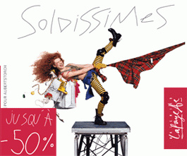 Soldes, 2011, Shopping, Grands magasins, Galeries Lafayette