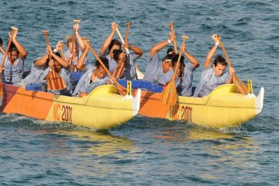 Pirogue, Nouvelle Calédonie, Jeux du Pacifique 2011