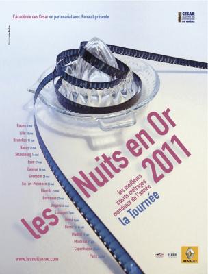 Les Nuits en Or 2011, Courts Métrages, Cinéma, Max Linder, Paris
