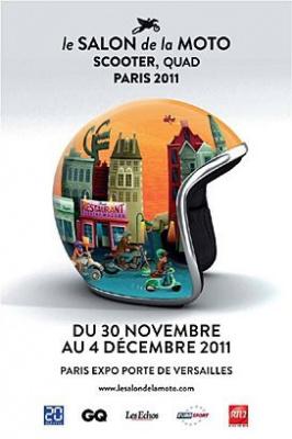 Salon de la Moto, Scooter, Quad, Paris 2011, Parc des Expositions, Porte de Versailles