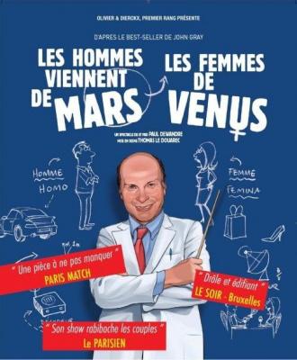 vénus mars