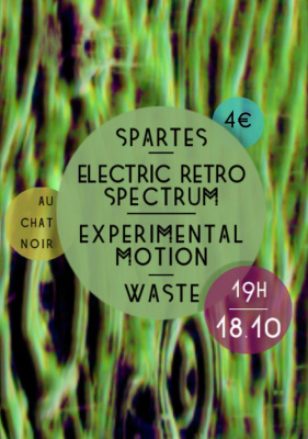 Cacofonix #22 Electric Retro Spectrum/Waste/Spartes/Experimental Motion