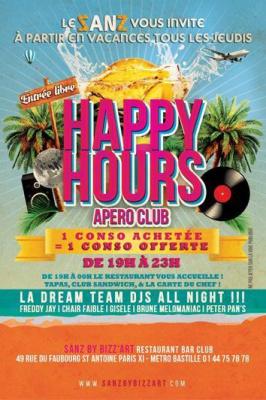 Happy Hour Apéro-Club