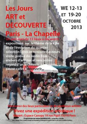 Jours Art et Découverte Paris la Chapelle