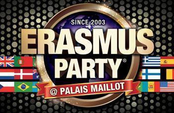 Erasmus Party in Paris saison 2013/2014