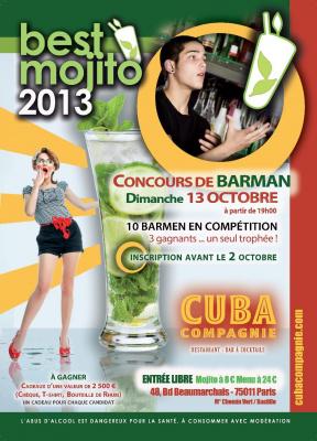 Best Mojito In Paris : Concours de Barman