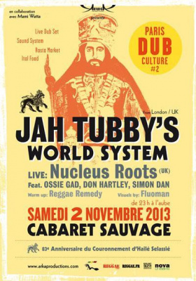 PARIS DUB CULTURE # 2 - JAH TUBBY'S WORLD SYSTEM