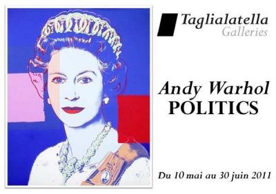Andy Warhol, Politics, Taglialatella, Pop Art