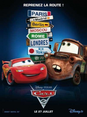 Cars2, Pixar, film d'animation
